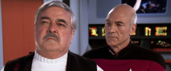 Relics Scotty and Picard