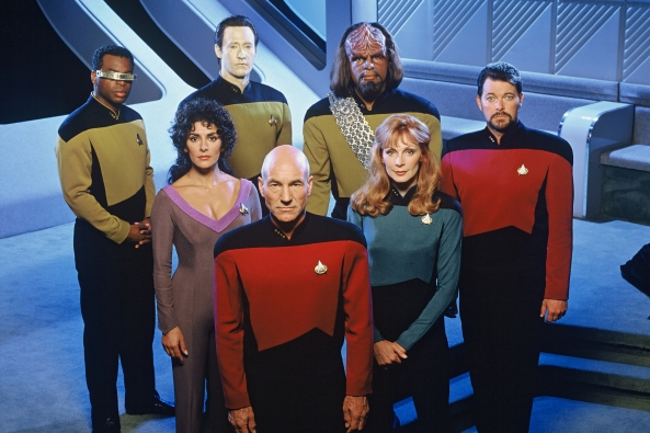 Star Trek Next Generation Crew