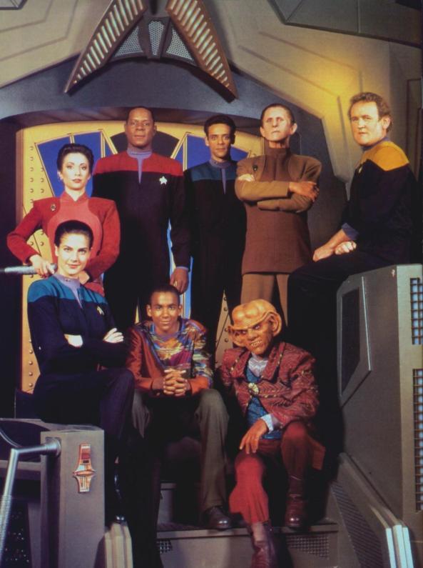 Star Trek DS9 crew