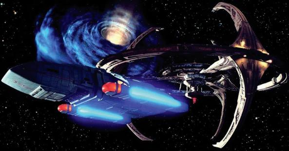 Star Trek DS9 wormhole