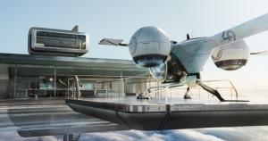 bubbleship docked