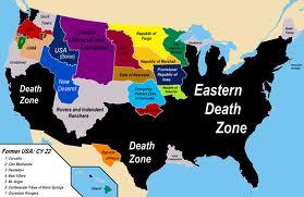 Some Future Alternate North American Maps Starloggers - Future map of north america