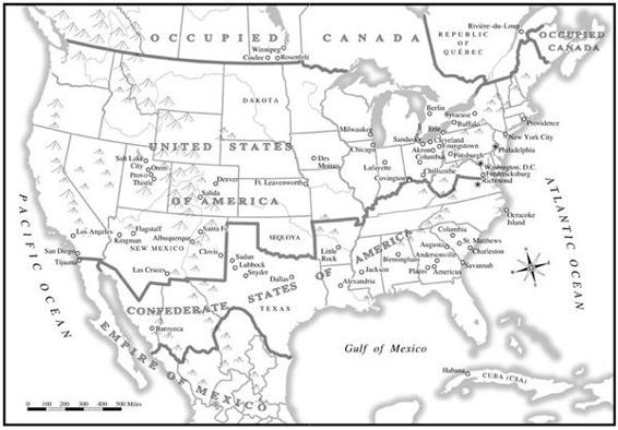 Great War Turtledove map