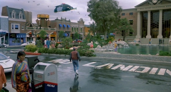 Hill Valley BTTF Future