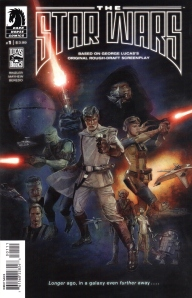 the star wars cover