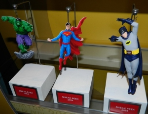 superman hulk ornament