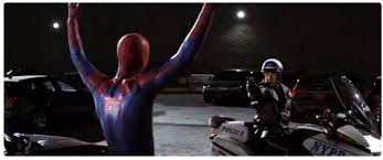 spidey and cops