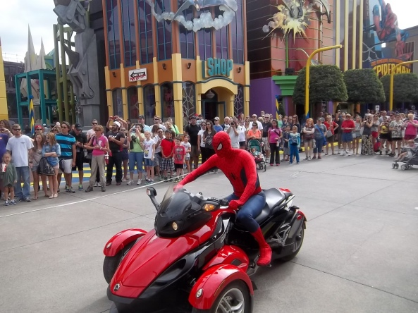 spidey bike