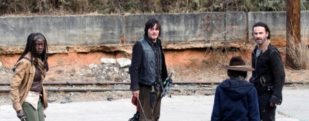 rich, michonne daryl