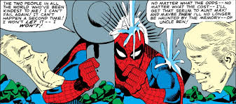 spidey trapped