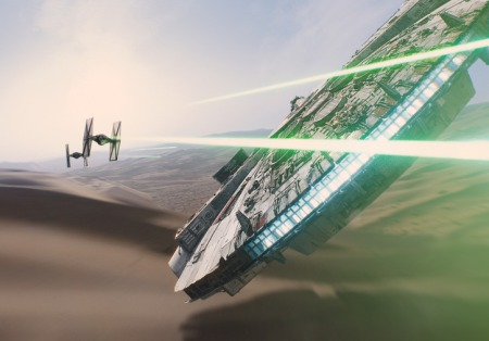 m falcon star wars 7