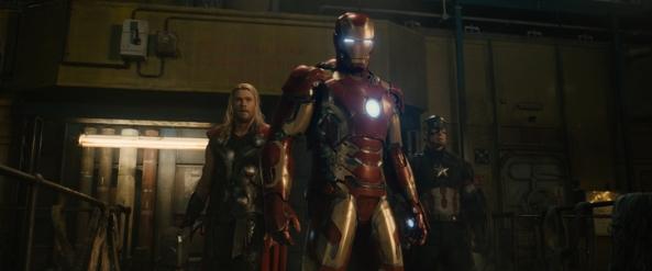 iron man, cap thor