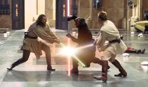 jedi sith fight