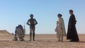 back at tatooine