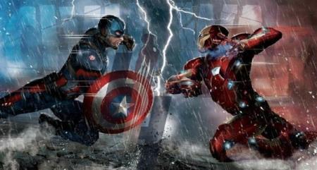 cap vs iron man