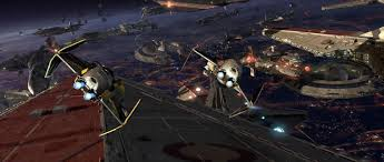 coruscant battle