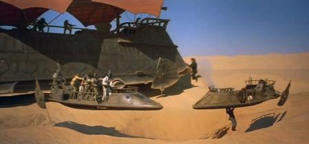 sand barge battle