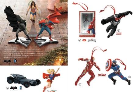 superhero 2016 ornaments