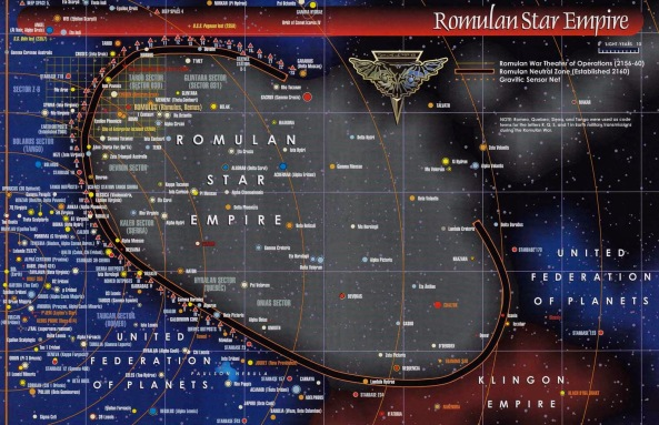 romulan map