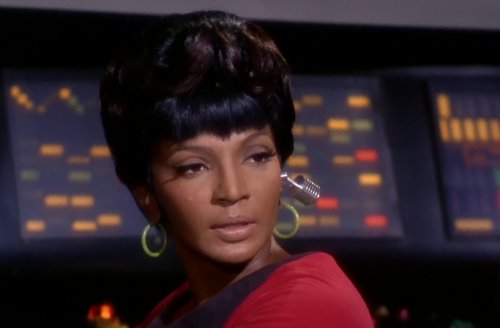 Uhura and ear piece