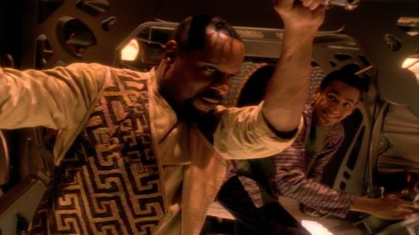 Ben and Jake Sisko explorers