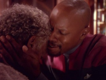 older Jake Sisko sacrifices his life