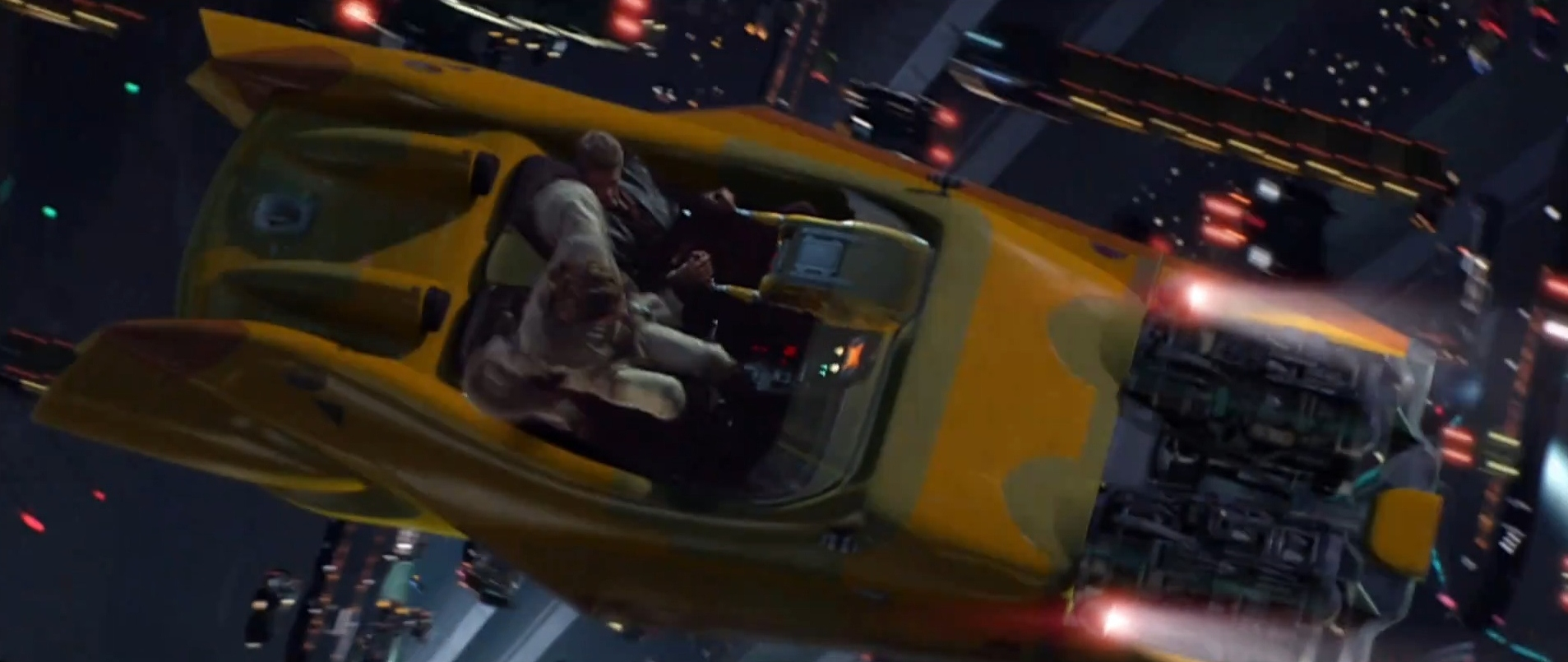 flying car star wars