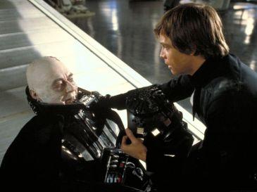 Vader without helmet