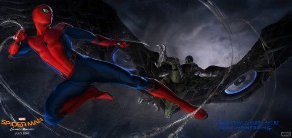 Spidey fights Vulture