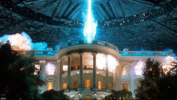 White House destroyed in ID4