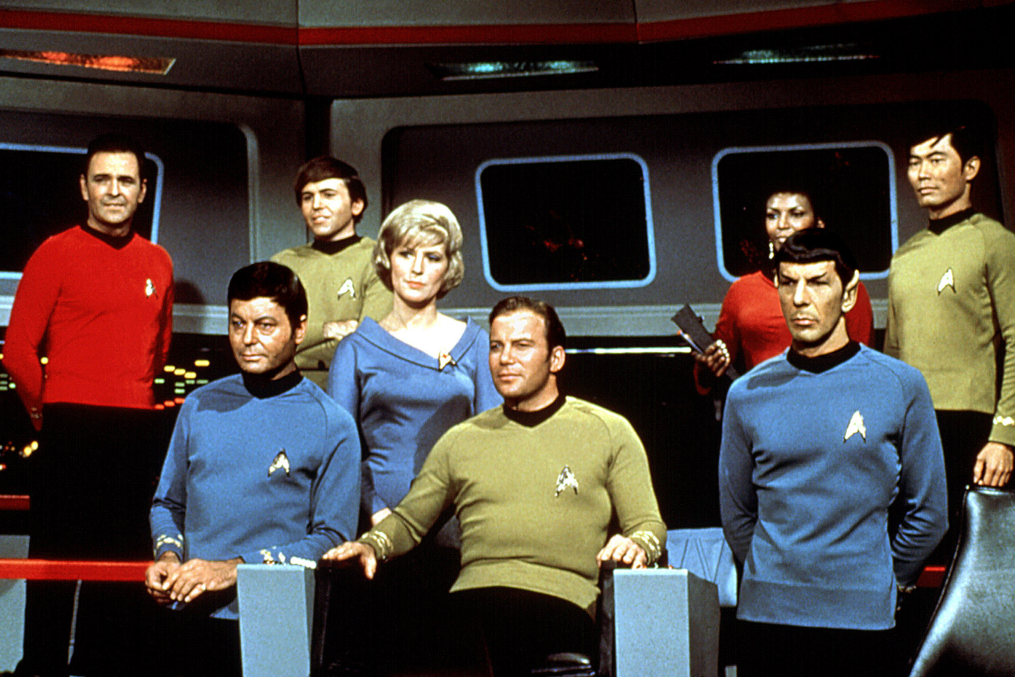 original Star Trek cast