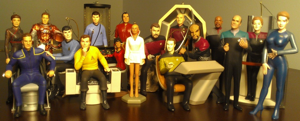 The Greatest Star Trek Hallmark Ornaments Starloggers