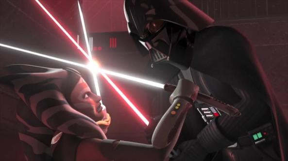Ahsoka vs. Darth Vader