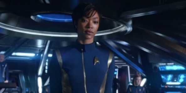 First officer michael Burnham
