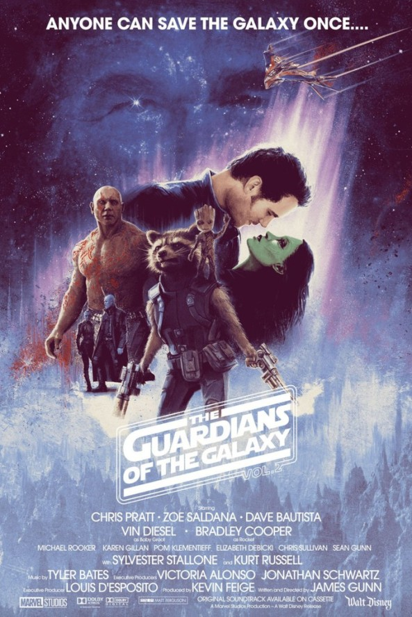 GOTGV2 as Empire Strikes Back
