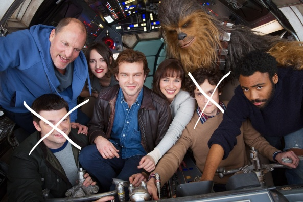 Solo cast fired directors