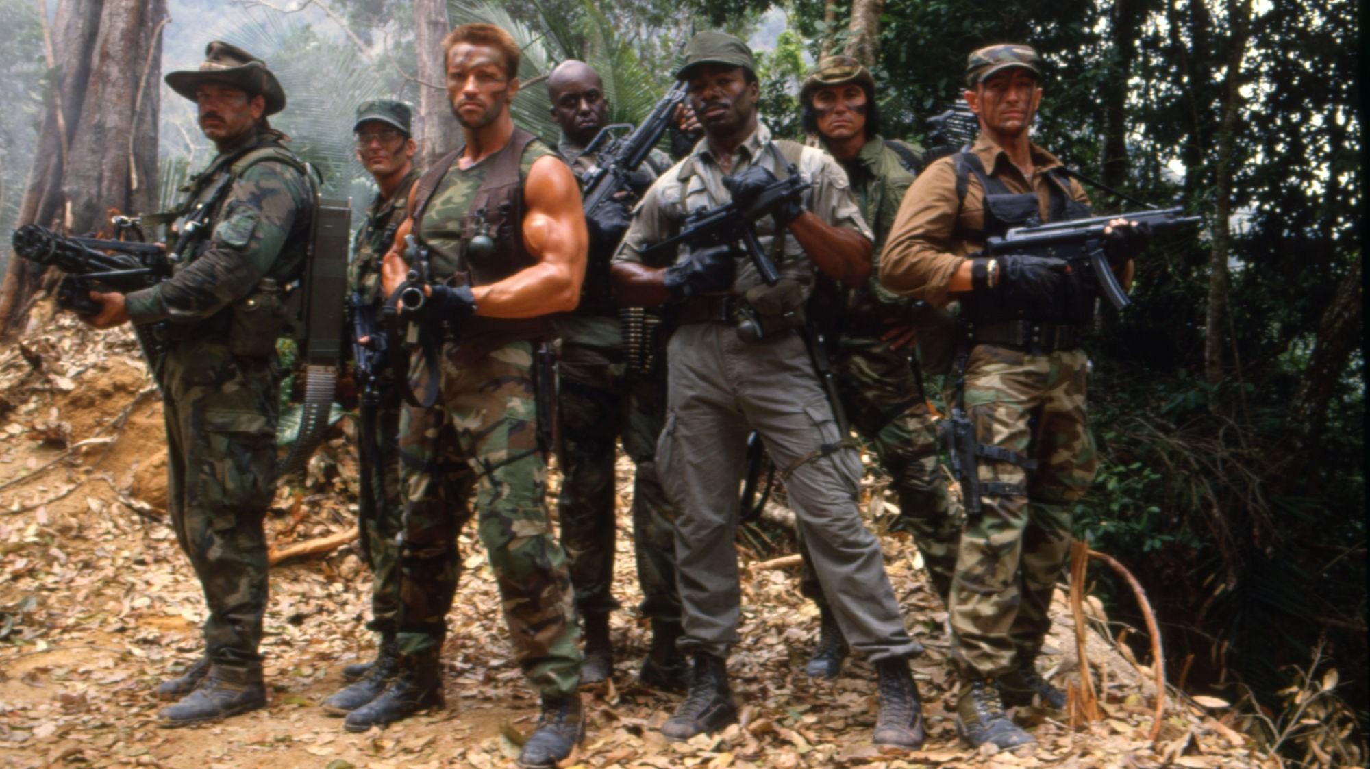 Original Predator cast