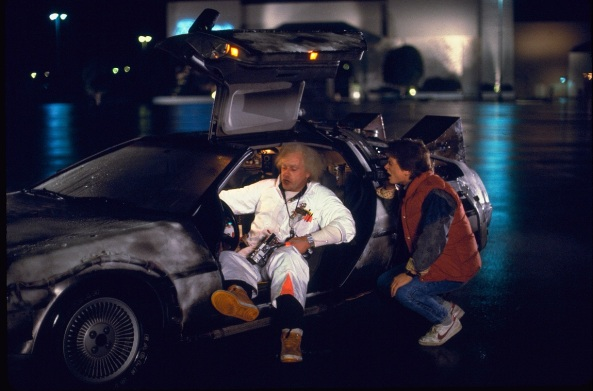 marty and doc brown
