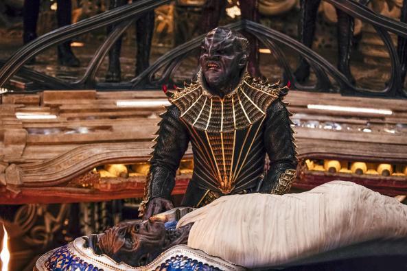 klingon burial