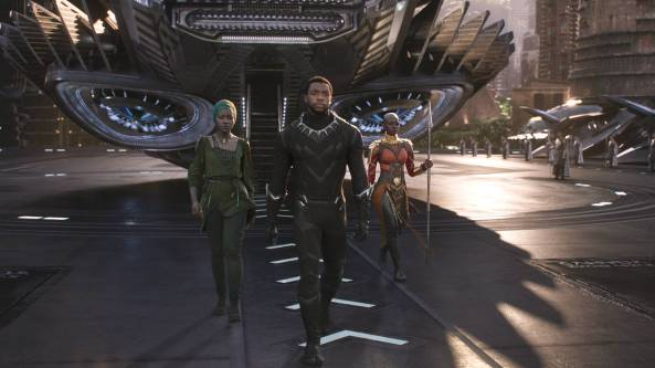 black panther at wakanda