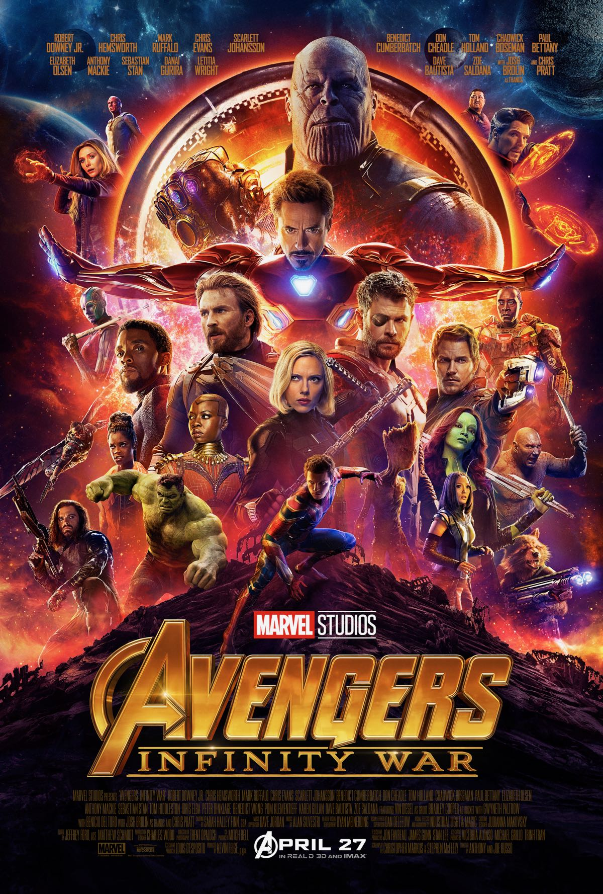 Avengers IW poster