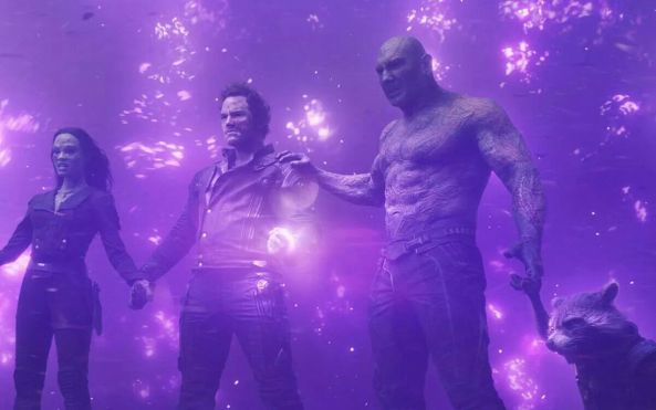 guardians with power stone
