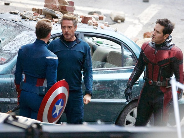 Avengers 4 BTS