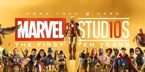 Image result for mcu 10th anniversary logo