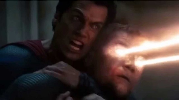 Superman kills Zod