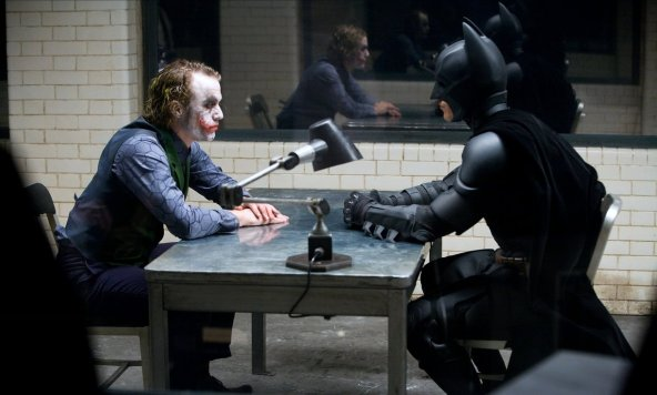 batman and joker the dark knight