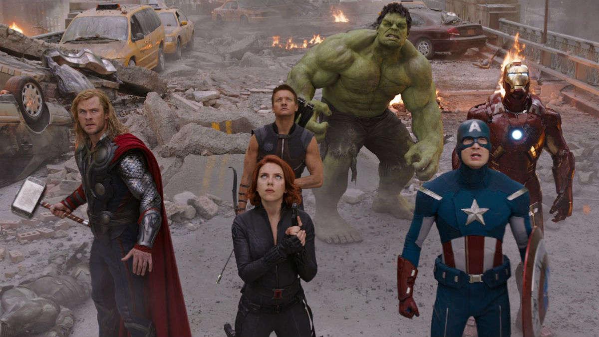 avengers first team up