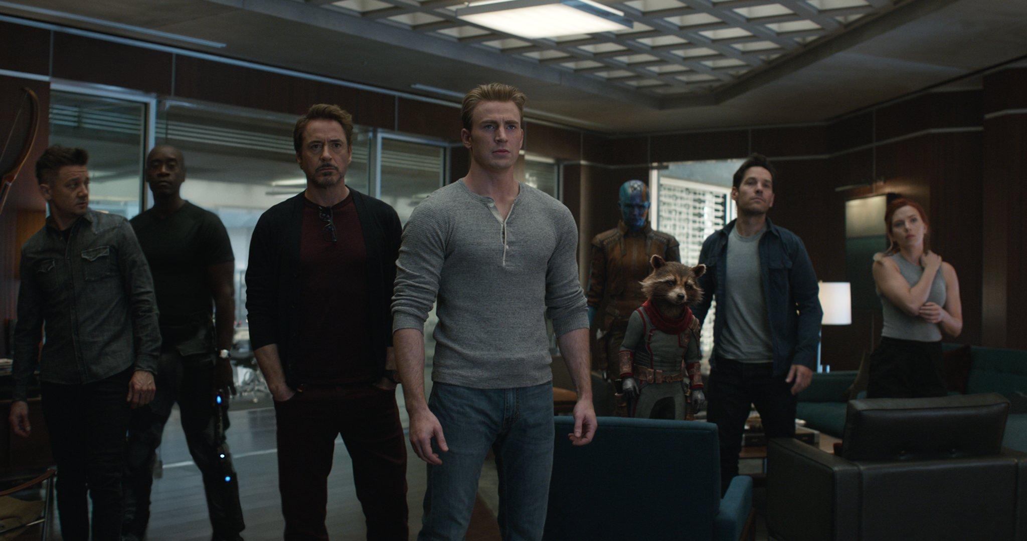 Avengers in Endgame