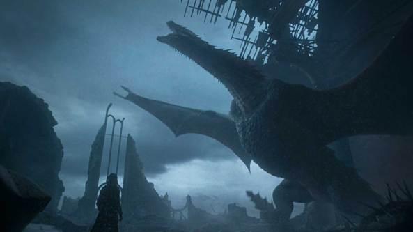 Drogon mourns
