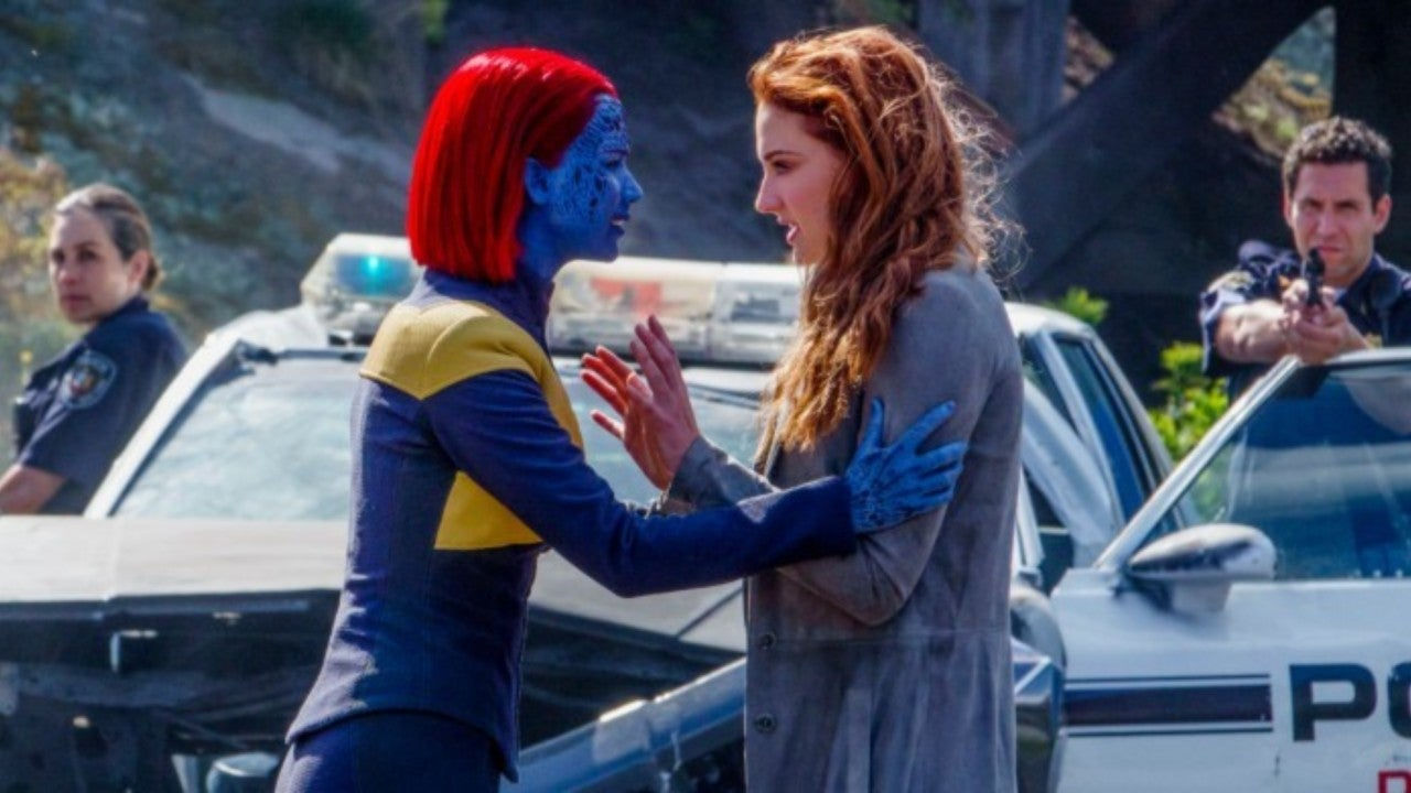 mystique and jean grey